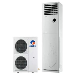 Gree 4 Ton–GF-48CDHAA+ Non Inverter Low Voltage Startup Heat And Cool Floor Standing Cabinet