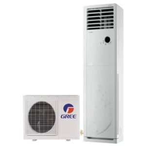 Gree 2.0 Ton–GF-24CDHAA+ Non Inverter Heat And Cool Low Voltage Startup Floor Standing Cabinet