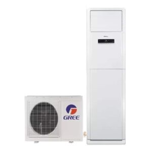 Gree 2.0 Ton–GF-24FWHAA+ Non Inverter Heat And Cool Low Voltage Startup Powerful Compressor Floor Standing Cabinet