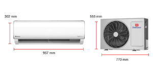 Dawlance 1.5 TON-30 POWERCON Heat And Cool Inverter Split Air Conditioner